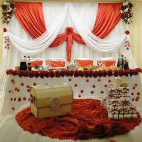 Варианты свадебного декора