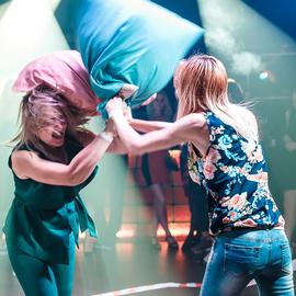 Финальный бой подушками