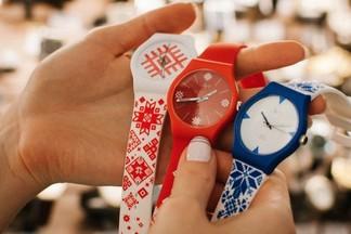 Минский завод «Луч» представил новую коллекцию наручных часов с вышиванкой