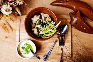 Пельмени, колдуны, вареники — символ китайского Нового года. Ищите в меню ресторана «Кухмистр»
