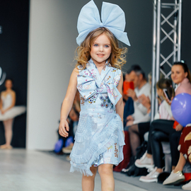 Kids' Fashion Day: KUDRINA, Даная, IZUM by Anna Gavriushina