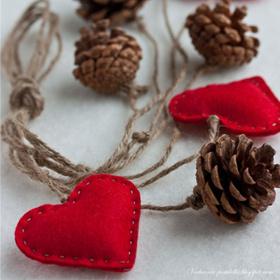 Поделки ко Дню Святого Валентина: делаем украшения своими руками