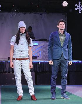 Вечером 4 декабря состоялся выпускной подиум-школы моделей «Ванилла Моделс»