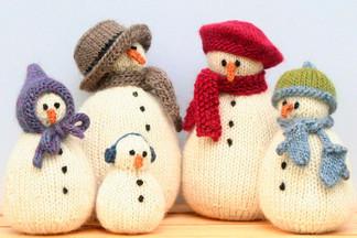 Снеговик своими руками на Новый год