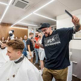 Открытие парикмахерской «Chop-Chop»