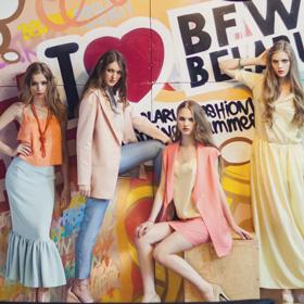 Имиджевая фотосессия  Belarus Fashion Week Spring-Summer 2015