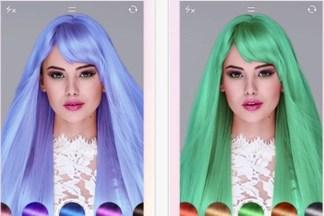 Белорусы разработали приложение, которое меняет цвет волос. Уже можно скачать