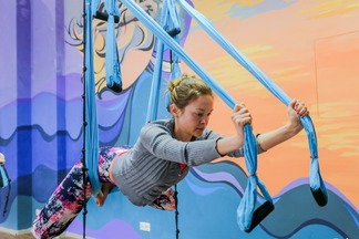 В Минске открылась йога-студия «Восьмая Чакра» — официальный представитель Международной школы йоги в воздухе