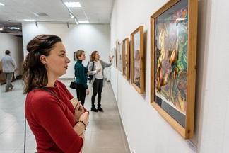 В Галерее Савицкого открылась выставка картин Аркадия Степина