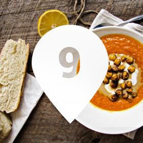 Осеннее меню: 9 мест, где готовят тыквенный суп