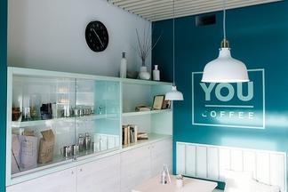 Новое место: кофейня YouCoffee со «свежим» дизайном и живой канарейкой