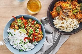«Gastrofest. Азия» дома: минская доставка ингредиентов для блюд с рецептами предлагает большой азиатский сет на двоих за 45 рублей