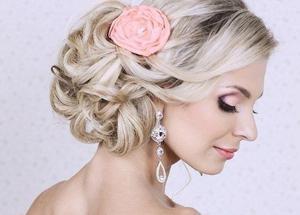 Прически на свадьбу для волос различной длины