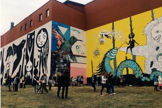 Бразильский викенд экофеста «ПАСТЕРНАК»