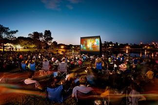Летом в Верхнем городе собираются устраивать показы фильмов под открытым небом