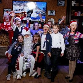Дед Мороз и эльфы