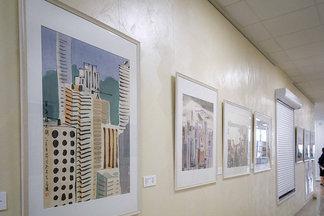 В Минске открылась необычная выставка живописи тушью