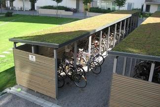 В Минске скоро появятся бесплатные гаражи для велосипедов