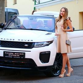 Презентация Range Rover Evoque Convertible