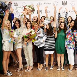 Mercedes Benz Fashion Show: RIANI