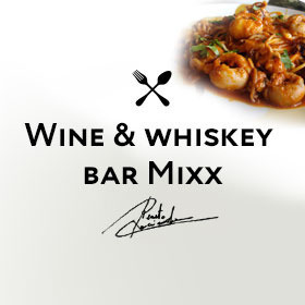 Wine & whiskey bar Mixx