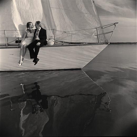 Свадебная фотосессия на Минском море. Свадебный фотограф Александр Кладов