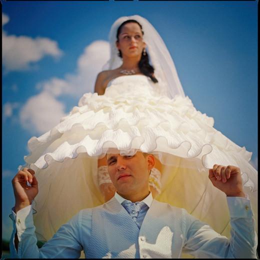 Свадебный фотограф в Минске Александр Кладов, стильная свадебная фотография
