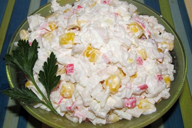 Салаты, рецепты с фото