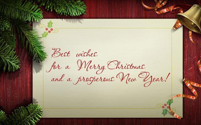 Текст деловых поздравлений с новым годом