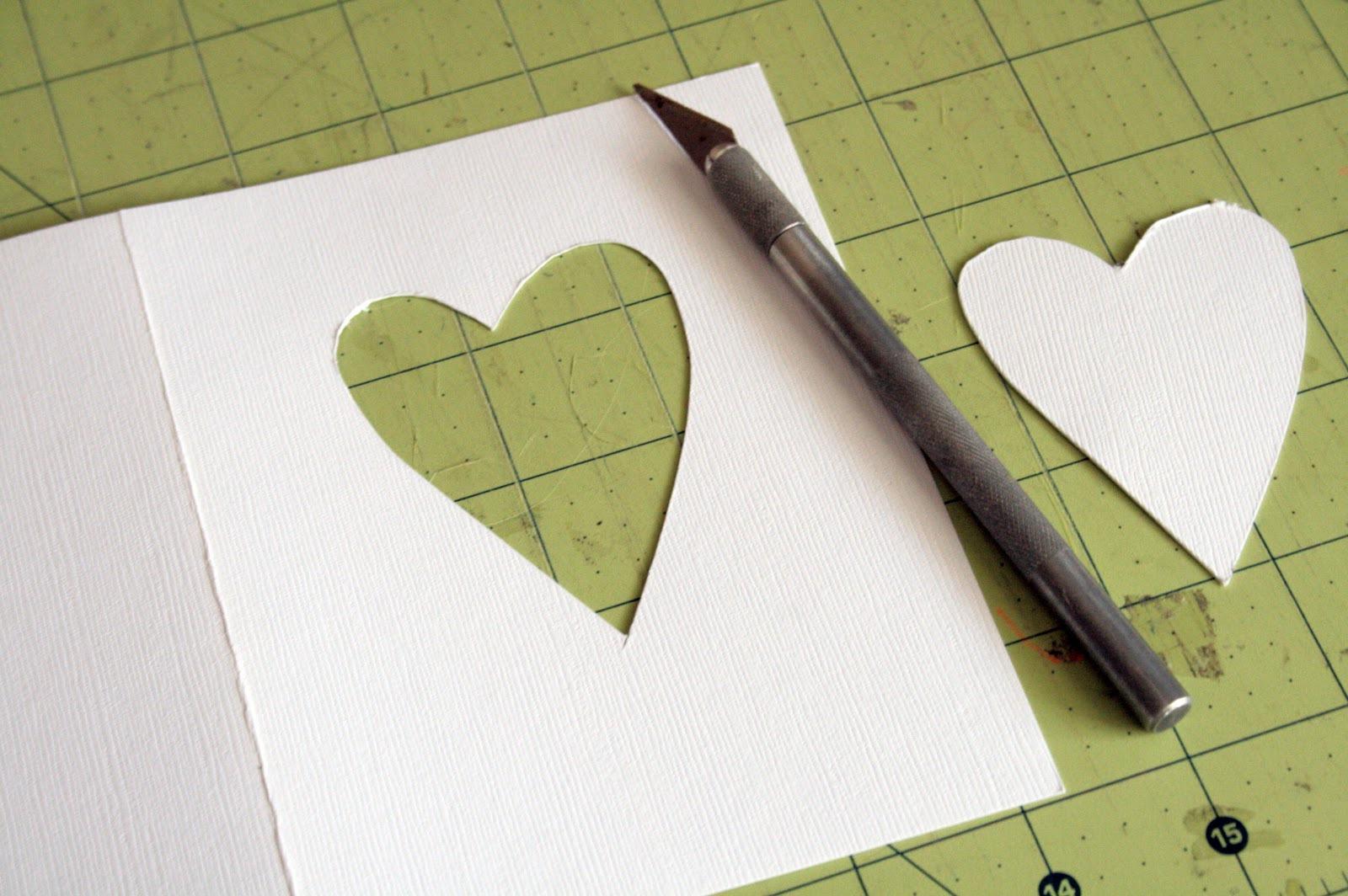 Как сделать открытки из бумаги и картона