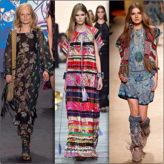 ef01acc27c9b18 Стиль Бохо в одежде: что такое бохо-стиль? Как одеться в стиле бохо шик для  полных – фото