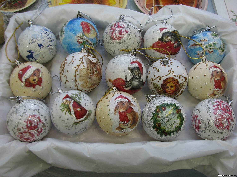Новогодние шары своими руками фото фото 941