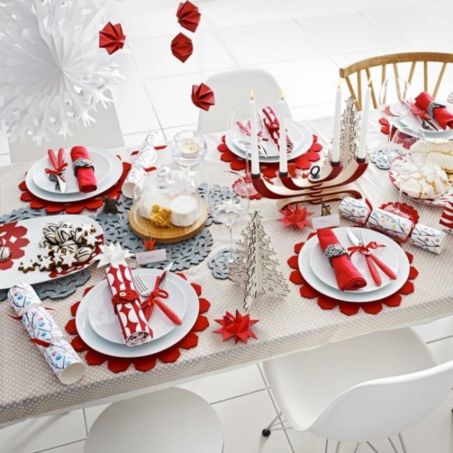 Новогодняя сервировка стола своими руками фото 612