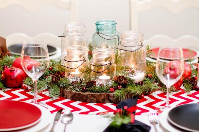 Новогодняя сервировка стола своими руками фото 364