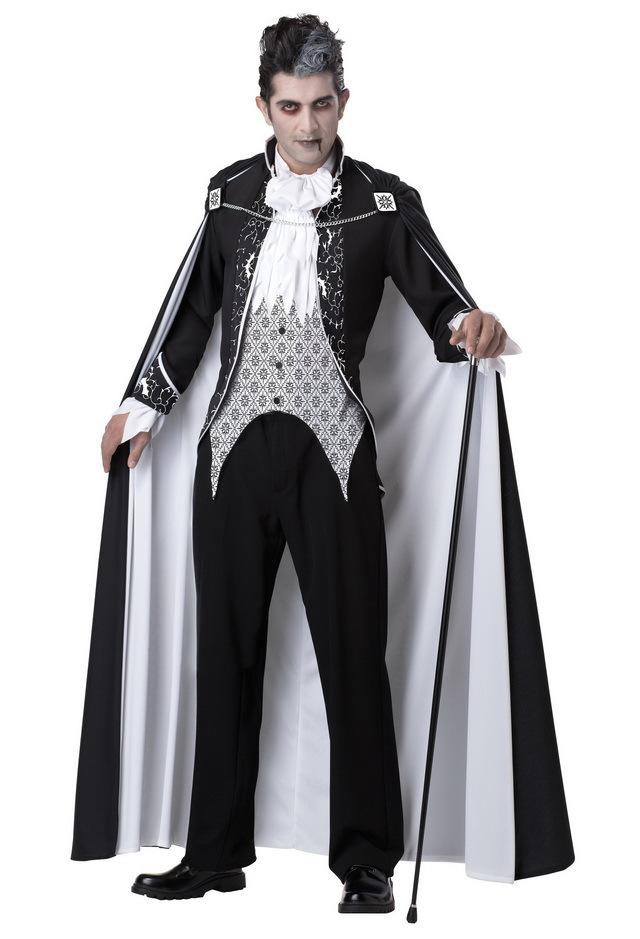 Костюм на хэллоуин вампира своими руками