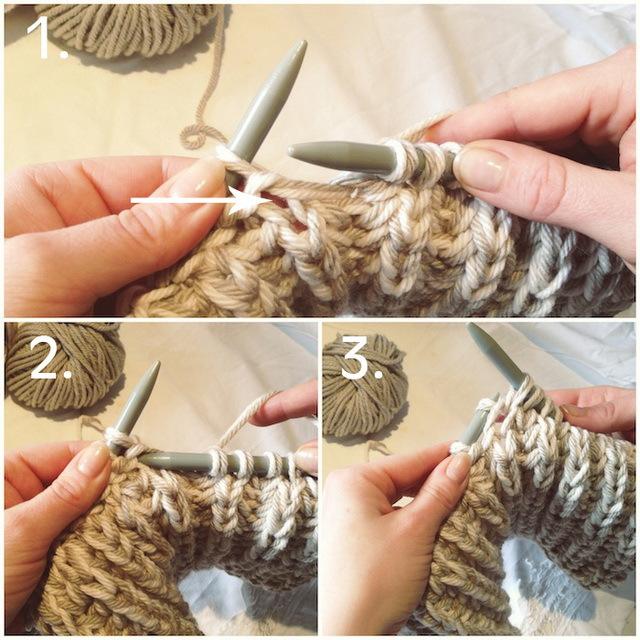 Связать шарф хомут своими руками