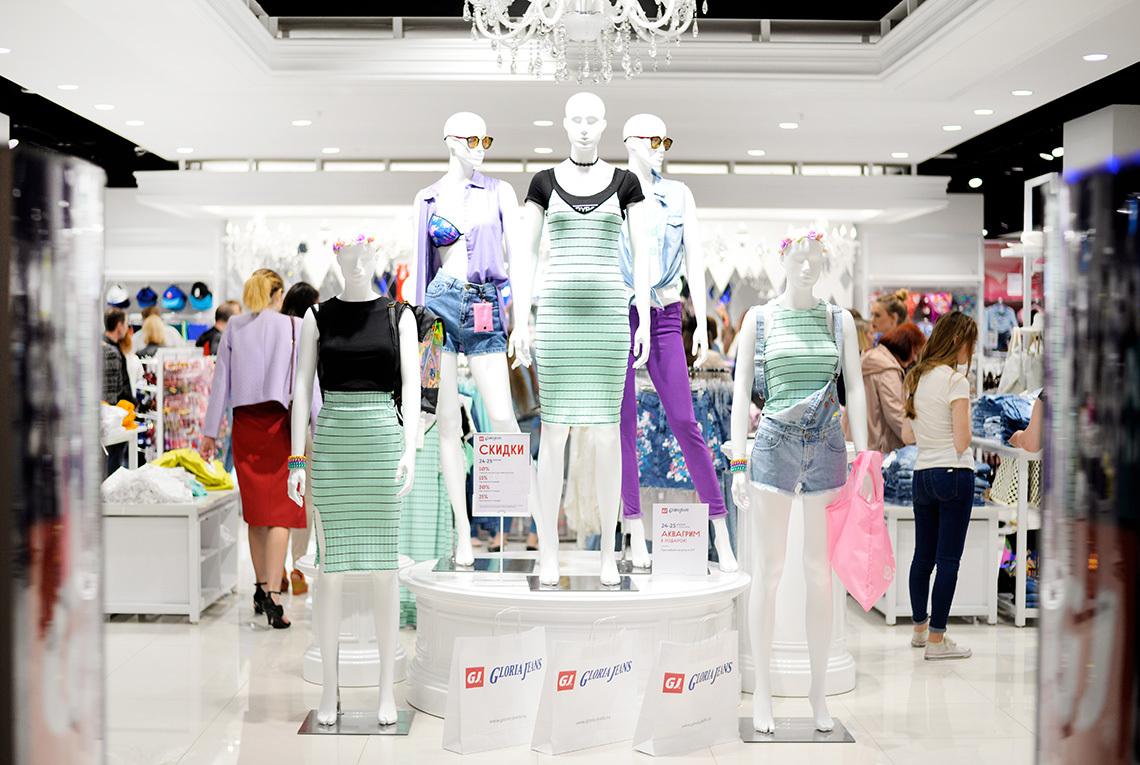 2233f5ae Развлекательная программа и импровизационная студия красоты по случаю  открытия Gloria Jeans в Galleria Minsk развернулись на первом этаже  торгового центра и ...