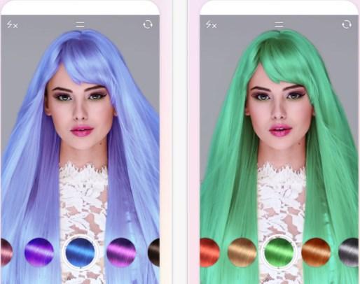 Программа которая меняет цвет волос