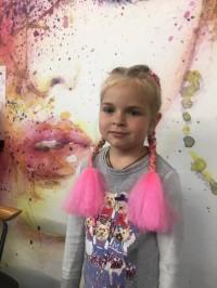 Картинки по запросу косы с цветными прядями