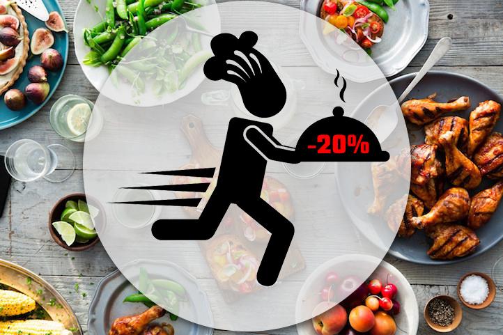 Доставка еды из ресторана Baldenini cafe с 20% скидкой