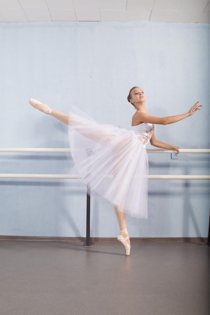 Фото: Сергей Козлов На фото ученица Ballet Studio Анастасия
