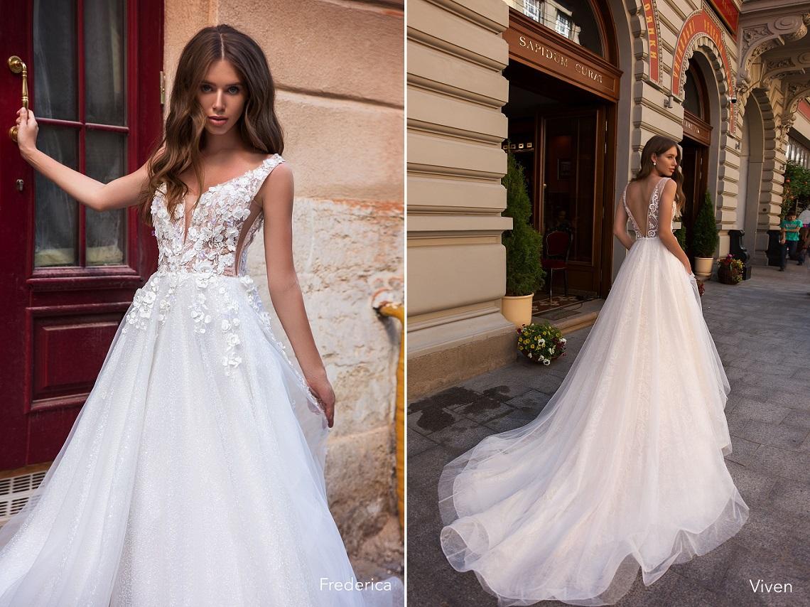8d4441b5f9d6e8b Великолепное свадебное платье Frederica несомненно создаст яркий и  запоминающийся образ невесты. Оно сверкает и переливается множеством  пайеток, ...