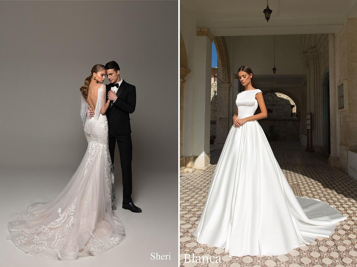 9ce30220b0fc94a Изящное и утонченное свадебное платье Sheri с обольстительным «русалочьим»  силуэтом. Изюминкой данной модели выступает длинная бахрома из кристаллов,  ...